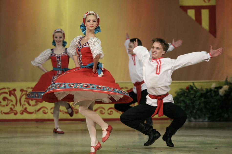 Нацыанальные танцы